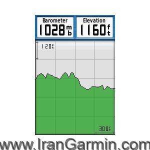 GPSMAP 78s Barometer