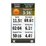زمان غروب خورشید GPS Oregon 600