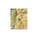 نقشه روی جی پی اس GPS eTrex 20