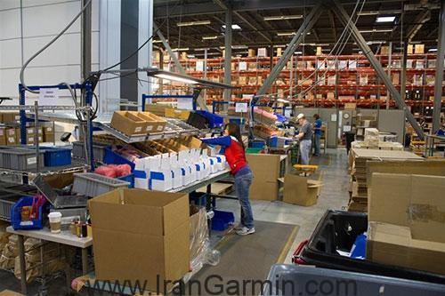 Garmin factory