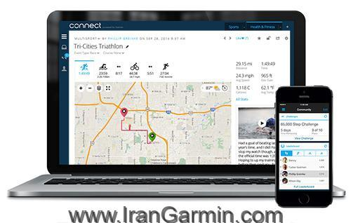 ساعت گارمین و Garmin connect