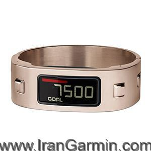 مچ بند ورزشی Rose Gold Bangle vivofit Band