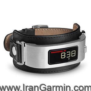 ساعت مردانه SilverBlack Leather Cuff Bundle vivofi 2 + Band