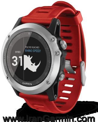 ساعت اسپرت Fenix3 silver watch