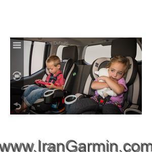 دوربین گارمین برای کنترل کودک