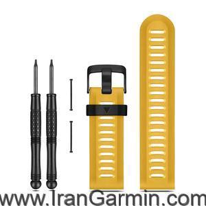 بند پلی آمید زرد ساعت گارمین فنیکس 3