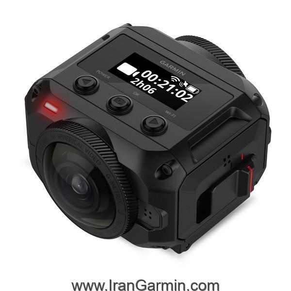 دوربین ماجراجویی گارمین Virb 360 دارای جی پی اس و ضد آب با فیلمبرداری 360 درجه