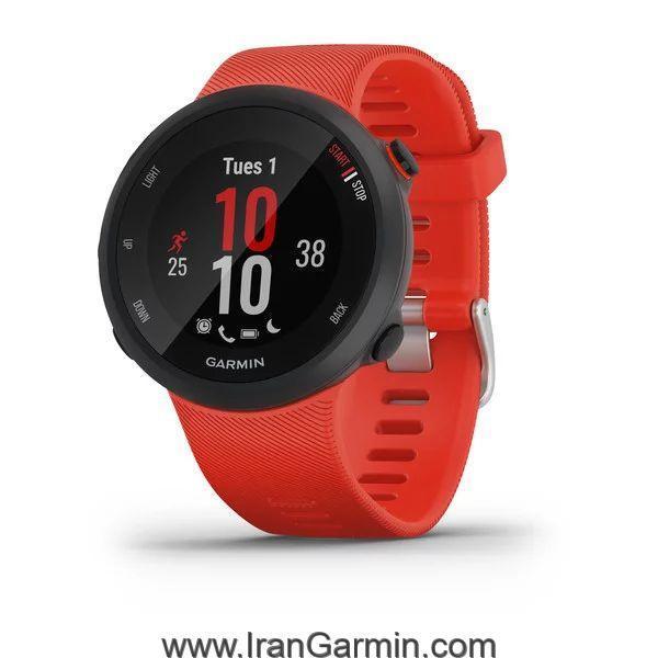 ساعت هوشمند گارمین Forerunner 45 Lava Red