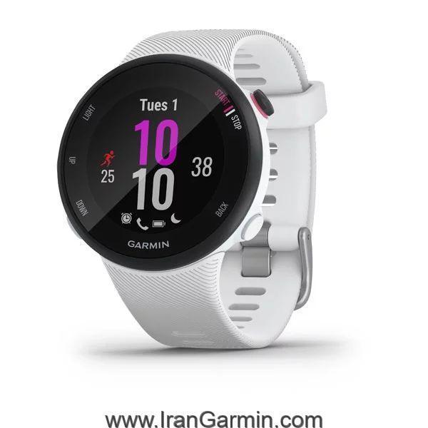 ساعت هوشمند گارمین Forerunner 45S White